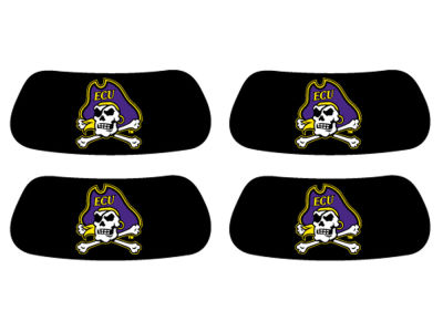 East Carolina Pirates 2 Pair Eyeblack Sticker