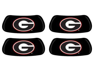 Georgia Bulldogs 2 Pair Eyeblack Sticker