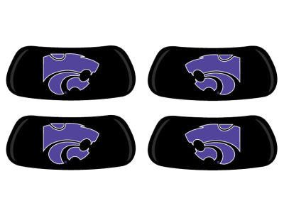 Kansas State Wildcats 2 Pair Eyeblack Sticker