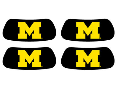 Michigan Wolverines 2 Pair Eyeblack Sticker