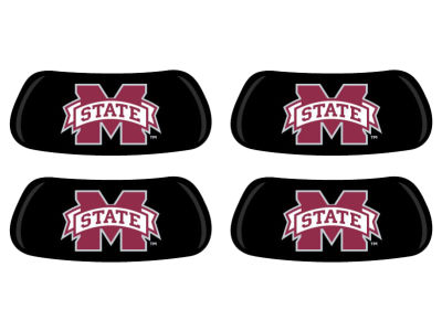 Mississippi State Bulldogs 2 Pair Eyeblack Sticker