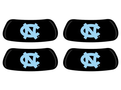 North Carolina Tar Heels 2 Pair Eyeblack Sticker