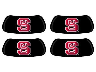 North Carolina State Wolfpack 2 Pair Eyeblack Sticker