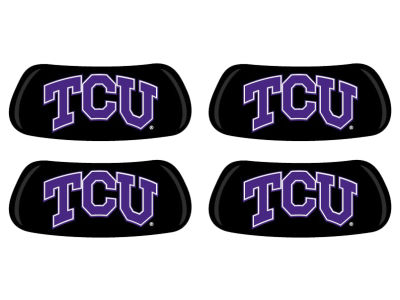 Texas Christian Horned Frogs 2 Pair Eyeblack Sticker