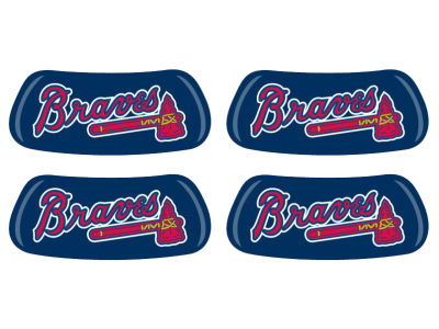 Atlanta Braves 2 Pair Eyeblack Sticker