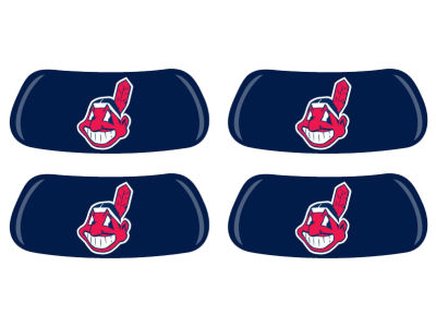 Cleveland Indians 2 Pair Eyeblack Sticker