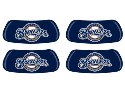 Milwaukee Brewers 2 Pair Eyeblack Sticker