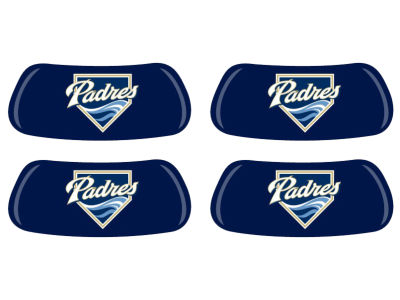 San Diego Padres 2 Pair Eyeblack Sticker