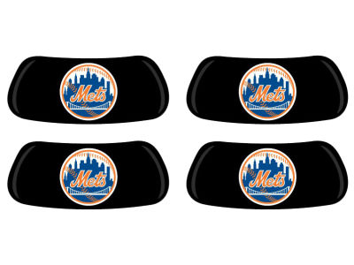 New York Mets 2 Pair Eyeblack Sticker
