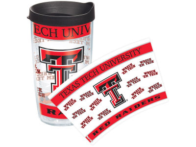 Texas Tech Red Raiders 16oz Wrap Tumbler With Lid