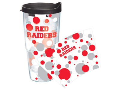 Texas Tech Red Raiders 24oz. Polka Dot Tumbler With Lid