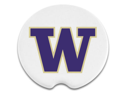 Washington Huskies 2 Pack Car Coasters