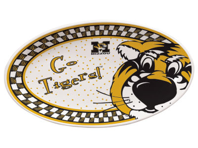 Missouri Tigers Oval Platter