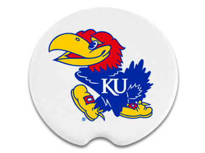 Kansas Jayhawks 2 Pack Car Coasters