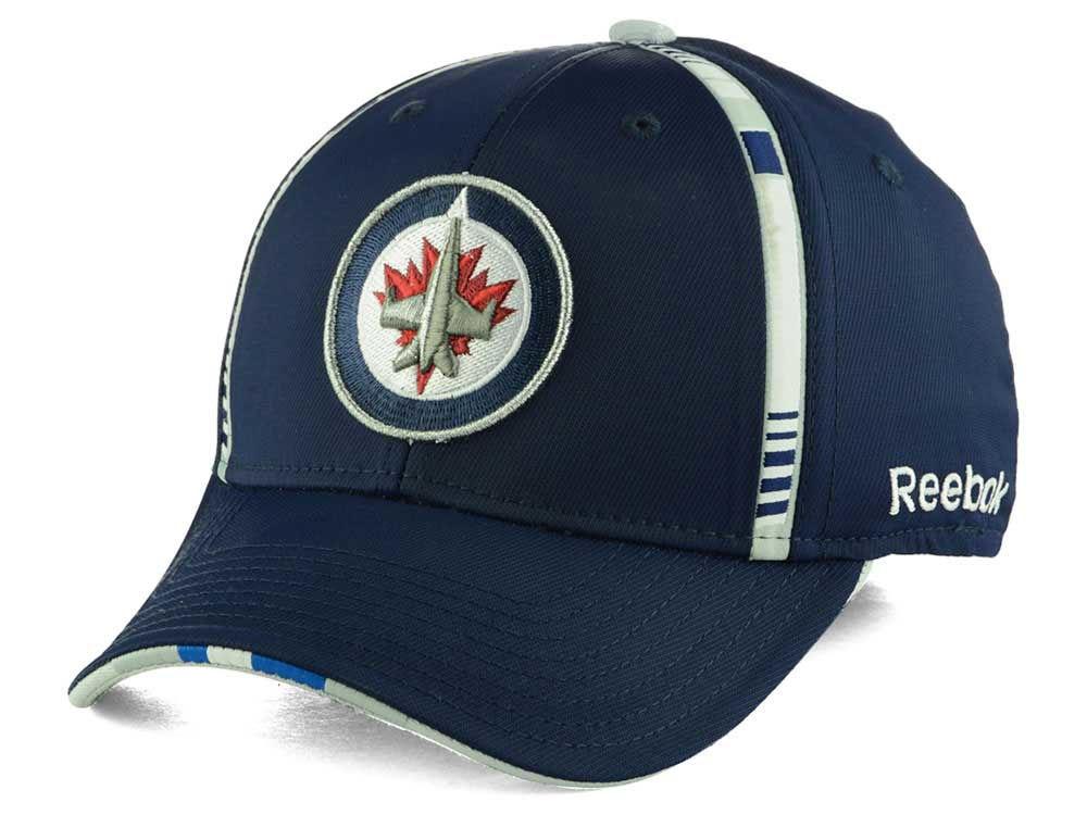 Winnipeg Jets Reebok NHL Draft Hats  b66258d0e23