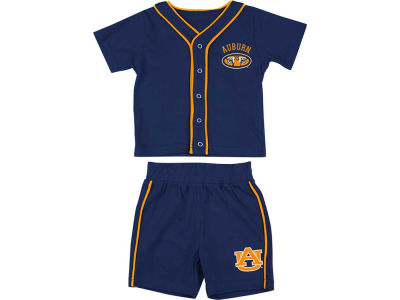 Auburn Tigers NCAA Newborn Fielder Tee And Short Set
