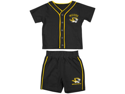 Missouri Tigers NCAA Newborn Fielder Tee And Short Set