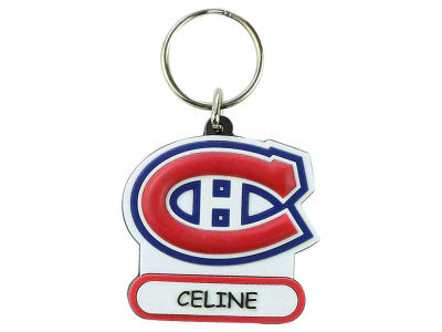Montreal Canadiens Name PVC Keychain