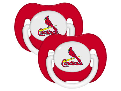 St. Louis Cardinals 2-pack Pacifier Set