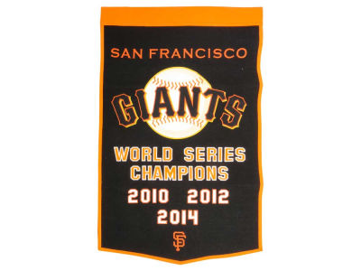 San Francisco Giants Winning Streak Dynasty Banner