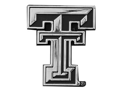 Texas Tech Red Raiders Metal Auto Emblem