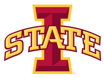 Iowa State Cyclones 4x4 Magnet