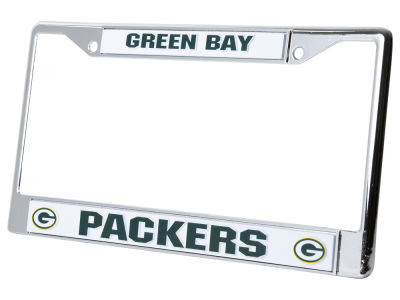 Green Bay Packers Chrome Frame