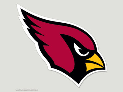 Arizona Cardinals Die Cut Color Decal 8in X 8in