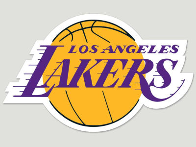 Los Angeles Lakers Die Cut Color Decal 8in X 8in