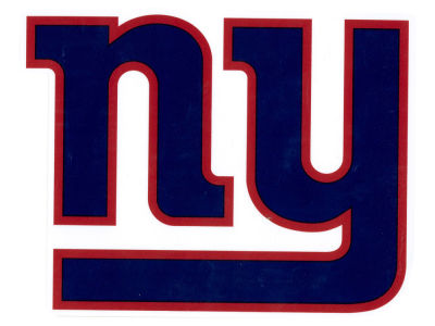 New York Giants Die Cut Color Decal 8in X 8in