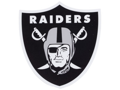 Oakland Raiders Die Cut Color Decal 8in X 8in