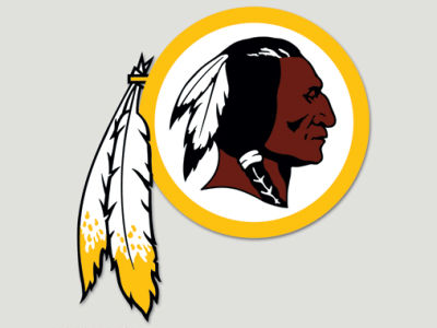 Washington Redskins Die Cut Color Decal 8in X 8in
