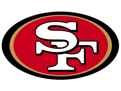 San Francisco 49ers Die Cut Color Decal 8in X 8in