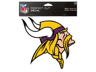 Minnesota Vikings Die Cut Color Decal 8in X 8in