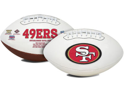 San Francisco 49ers Signature Series Football