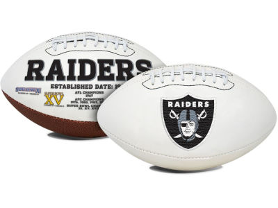 Oakland Raiders Signature Series Football