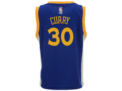 Golden State Warriors Stephen Curry adidas NBA Kids Replica Jerseys