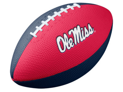 Ole Miss Rebels Nike NCAA Mini Rubber Football