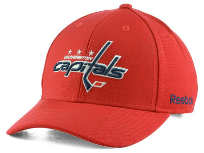 Washington Capitals Reebok NHL Core Basic Adjustable Cap