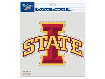 Iowa State Cyclones Die Cut Color Decal 8in X 8in