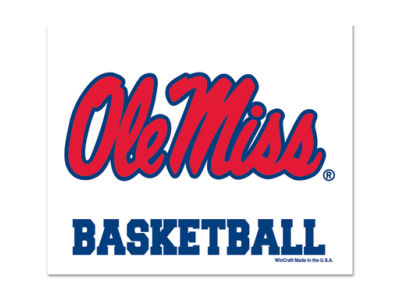 Ole Miss Rebels 3x4 Ultra Decal