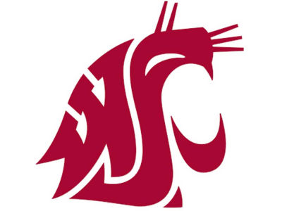 Washington State Cougars Die Cut Color Decal 8in X 8in