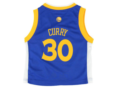 Golden State Warriors Stephen Curry adidas NBA Toddler Replica Jersey