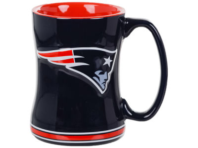 New England Patriots 14 oz Relief Mug