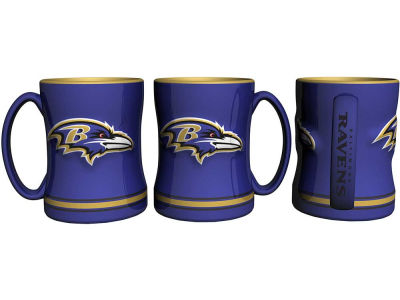 Baltimore Ravens 14 oz Relief Mug