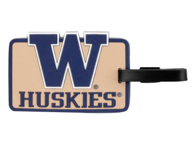 Washington Huskies Soft Bag Tag
