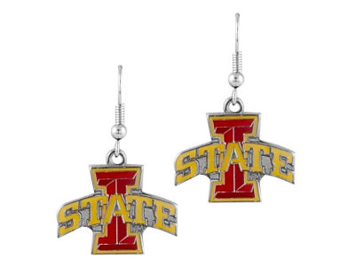 Iowa State Cyclones Logo Earrings
