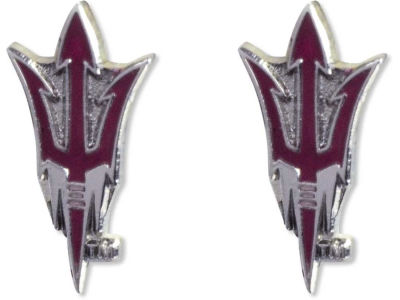 Arizona State Sun Devils Logo Post Earrings