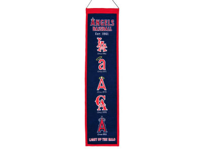Los Angeles Angels Winning Streak Heritage Banner