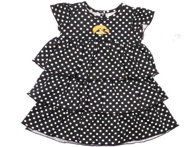 Iowa Hawkeyes NCAA Natasha Toddler Dress